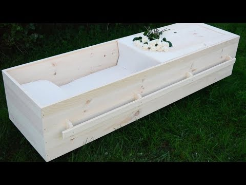 Do-it-yourself casket? It's a thing, thanks to a N.B. woodworker