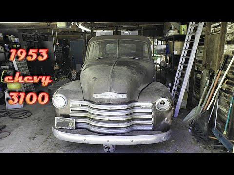 Check out my new shop project: I got it from the original owner! (pt. 1) 1953 '3100'