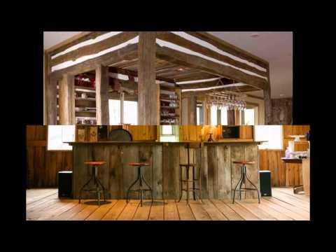Rustic bar design ideas