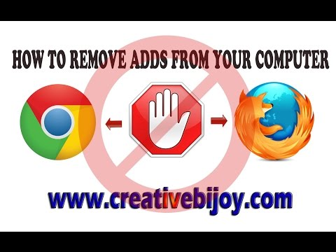 How To Remove Ads From Google Chrome Or Mozilla Firefox - Very Easy #HD (Hindi)