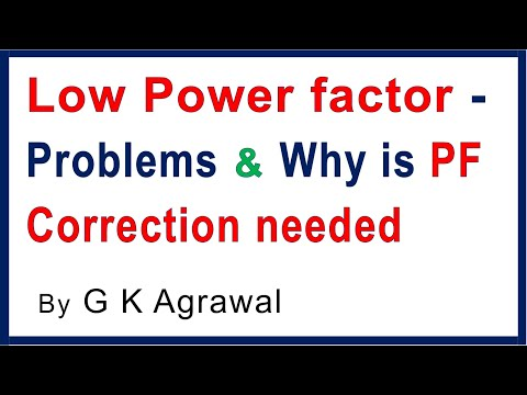 Why Power Factor correction is required in industry?