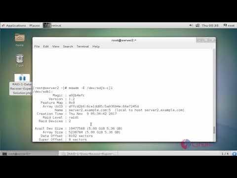 How to configure RAID1 on CentOS 7