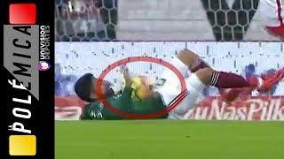 ¿Había mano de Aquino en el gol de México contra Polonia? | LA POLÉMICA