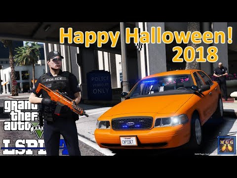 Happy Halloween 2018!  Rockford Hills Patrol (The Clowns Have Returned) | GTA 5 LSPDFR Episode 301