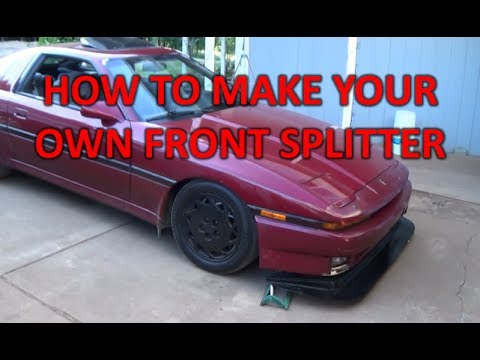 How to make a splitter