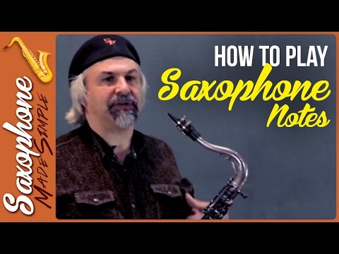 How to Play Saxophone Notes - Playing Long Tones