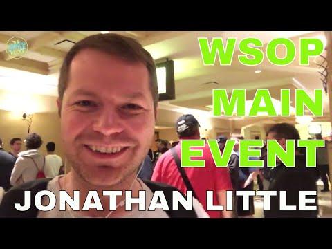WSOP 2017 Vlogs - The Jonathan Little Vlog #5 - WSOP Main Event
