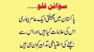 Pakistan Main Phailti Aam Bimari Swine Flu Ki Alamat Or Ehtiati Tadabeer