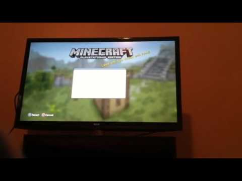 How to play minecraft ps3 offline