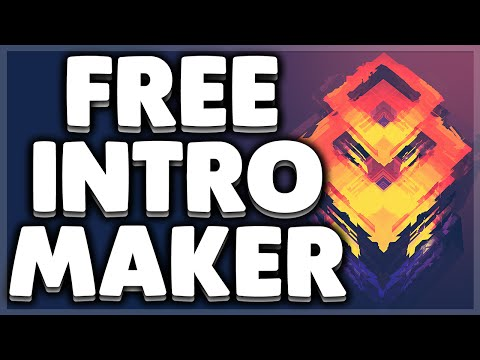 How To Make An Intro FREE! (Easy Tutorial) 2018