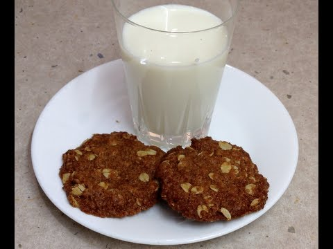 Anzac Biscuits Australian Iconic Cookie video recipe cheekyricho