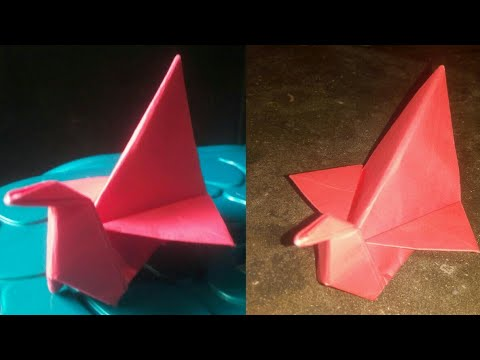 Make A Paper Duck At Home - FREE VIDEO & MUSIC