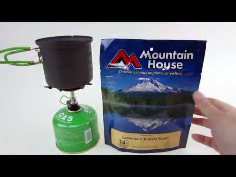Mountain House Lasagna with Meat Sauce Freeze Dried Food Pouch Review by MUDD CREEK