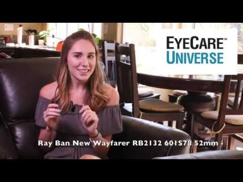 Ray Ban RB 2132 55mm 601S78 Video Review