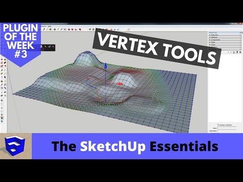 Organic Modeling in SketchUp with Vertex Tools - Plugin of the Week #3
