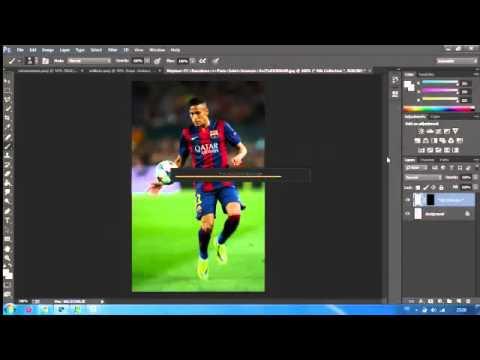 Photoshop Graphic Design - Football Edit - Neymar Junior Edit
