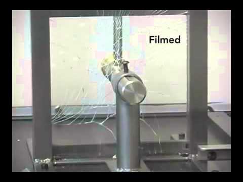Solar Gard Armorcoat Safety Window Film Demo_(360p)