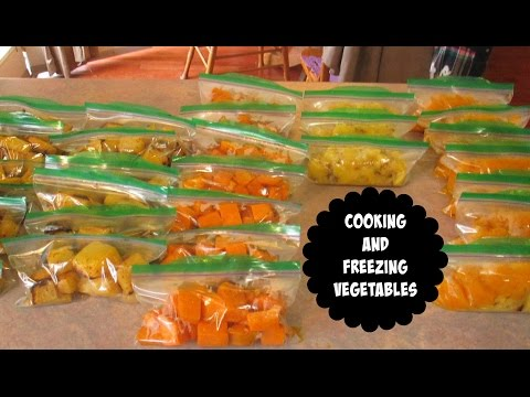 Cooking And Freezing Vegetables