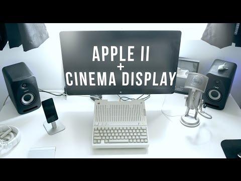 Apple II to Cinema Display - New Tech Old Tech