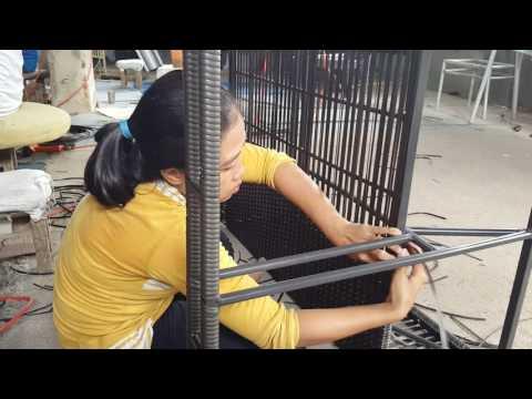 Rattan Lounger 01 - Indonesian Synthetic Rattan Furniture - outdoor furniture - wicker furniture