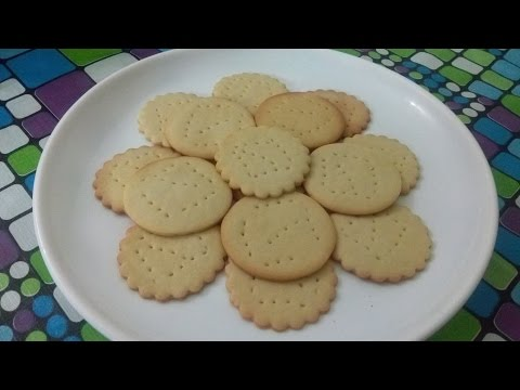 Recipe of Marie Biscuits - 1st Video on Youtube World, Beauty Tips