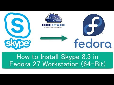 How to Install Skype 8.3 in Fedora 27 Workstation & Redhat Linux 7 (64-Bit)