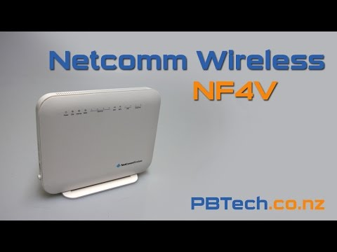 Netcomm Wireless NF4V VDSL/ADSL WiFi Gigabit Modem Router Review in 60 seconds (NF4V)