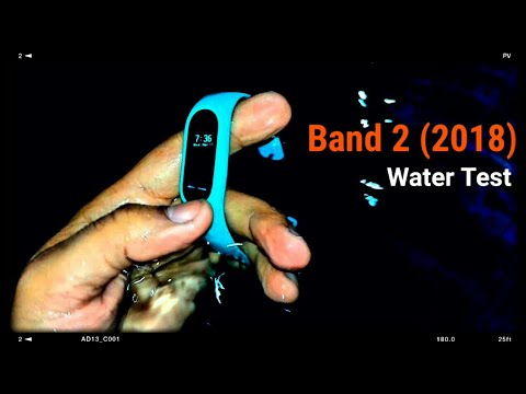 Mi Band 2 {2018} (Real life)Water Test