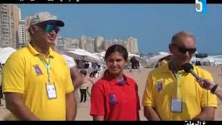 برنامج على الرملة يستضيف الربان عمر عز الدين والأستاذ احمد عمر والانسة داليدا عز الدين