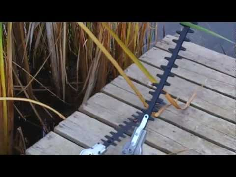 Water Weed Cutter for cattails and lily pads water vegetation