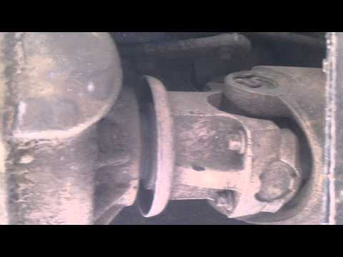 Bad Transfer case output shaft bearing or u joint?
