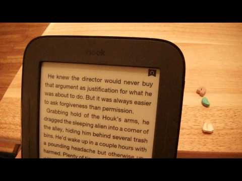 Nook Simple Touch Bookmark