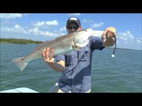 Catching redfish in Rockport after Hurricane Harvey