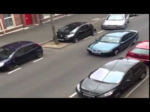 Biggest Parallel Parking FAIL EVER in the world! Woman Driver