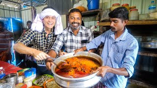 Spicy Indian Food!! TODDY SHOP - Fish Head Curry + Fresh Coconut Toddy in Kerala, India!