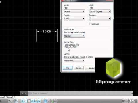 AutoCad 2014 Tip - Convert from inch to metric