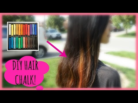 DIY HAIR CHALK!