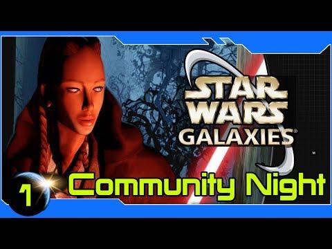 Star Wars Galaxies - SWG Revisted! SWGEmu Style - SWG Community Night #1