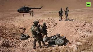 Iraqi security forces search and destroy ISIS hideouts in Anbar desert    2019