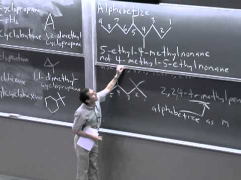 Organic Chemistry 51A. Lecture 11. Nomenclature of Alkanes, Conformations of Ethane