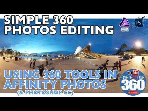 Simple 360 Photos Editing - Affinity Photo