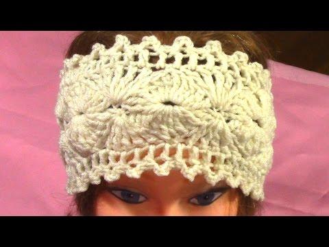 DIY Hot Crochet Headband, Tutorial, Pattern