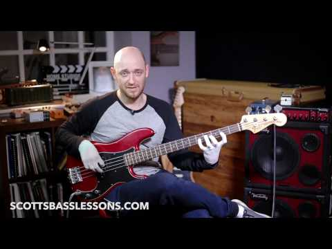 How to Learn the Notes on the Bass Guitar /// Scott's Bass Lessons