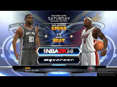 NBA 2k14 | How to Change Your Name in MyCareer