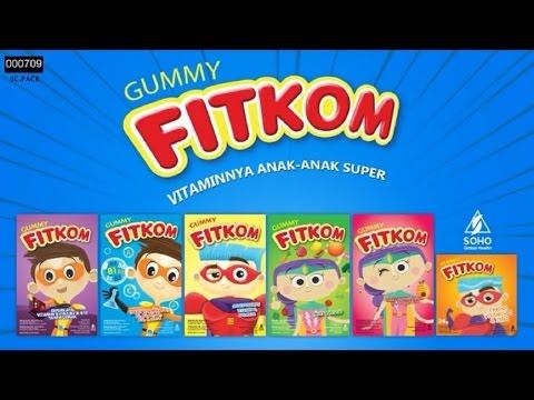 Iklan Fitkom Gummy Rangers - Vitamin Anak Super