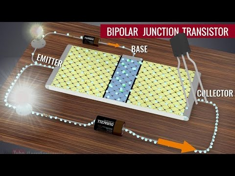 Transistors, How do they work ?