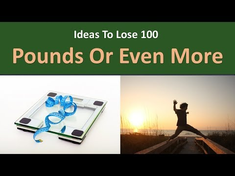 Ideas to lose 100 Pounds or even more.|Go Big in the morning.