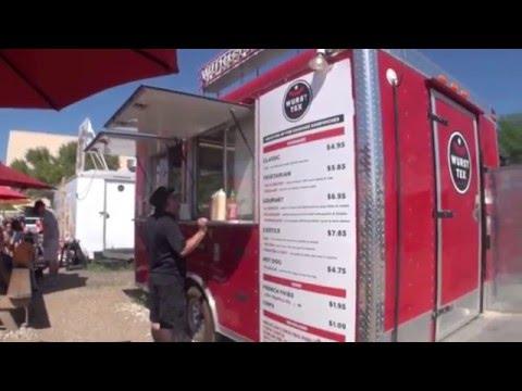 Best food truck menu boards