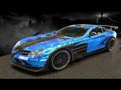 Color Changing Chrome Compilation of Exotic Super Cars in Vinyl Wrap Zaltra MotorZ
