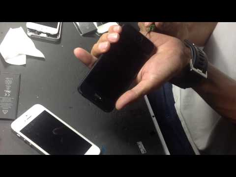 The iPhone5 Battery Replacement in Thailand